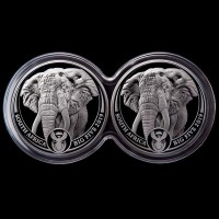 2019 BIG 5 ELEPHANT PROOF SET